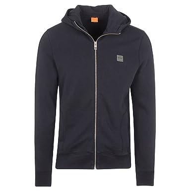 52611855 BOSS Hugo Jacket - Mens Ztadium Zip Jacket in Navy: Amazon.co.uk: Clothing