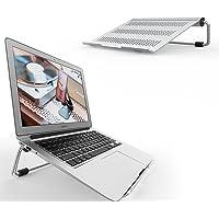 "Laptop Stand, Lamicall Portable Laptop Riser : Adjustable Foldable Ergonomic Desktop Laptop Cooling Holder for Desk Compatible with 10"" ~ 17.3"" Notebooks, like new 2018 Dell XPS, HP, Lenovo - Silver"