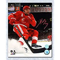 $69 » Pavel Datsyuk Detroit Red Wings Autographed Joe Louis Ice Spray 8x10 Photo - Signed Hockey Pictures