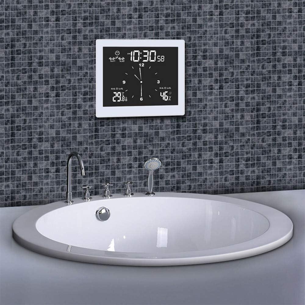 große wasserdichte Wanduhr Rosepoem Digitale Duschuhr für das ...