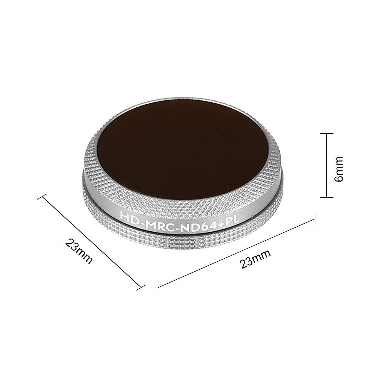 Jasnyfall Cranberry HD-MRC-UV/CPL / ND8 / 16/32 Objektivfilter Objektivfilter Objektivfilter für DJI Mavic 2 Zoom Kamera Grau HD-MRC-UV/CPL / ND8 / 16/32 74f42b