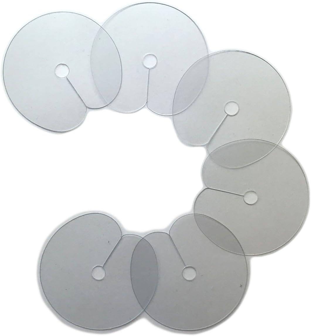 Hermosisimo Stencils Para Extensiones De Cabello 6 Piezas 6 Unidades 10 g