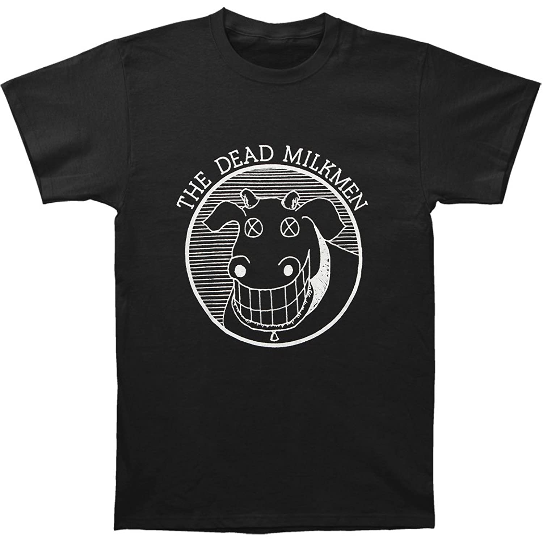 amazon com dead milkmen cow logo t shirt music fan t shirts
