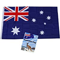 MJB Inspired Australian Flag. Robust Full Size 3 ft X 5 ft Polyester National Flag is Suitable for Indoor or Outdoor use…