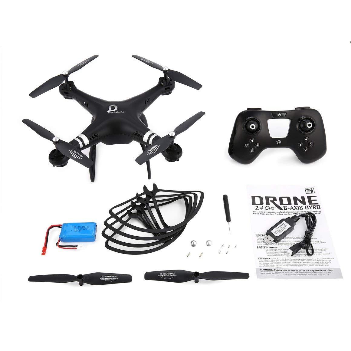 grandes ahorros Funnyrunstore X8 RC Drone 2.4G Quadcopter Aviones no no no tripulados con Altitude Hold One Key Return Modo sin Cabeza 3D voltea 22 Minutos de Vuelo Largo (Negro)  primera vez respuesta