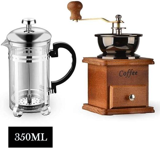 Hokaime Prensas francesas multifuncionales Cafetera Tetera de café ...