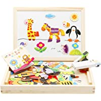 Jack Royal Magnetic Puzzle Drawing Board (Black/White Board)