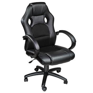 pas cher pour réduction b7f75 7bc80 TecTake Fauteuil de bureau chaise de bureau racer classe de ...