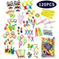 Party Favor Toys for Kids Birthday Toy Assortment for Boys & Girls. Big Bulk Toys of 120 pcs Pack for Pinata, Goodie Bags, Prizes