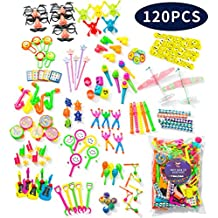 Party Favors for Kids Pack of 120 Pcs Toy Assortment for Boys & Girls - Birthday Party, Goody Bag, Pinata, Prizes