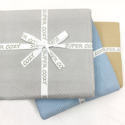 GOHD Golden Ocean Home Decor Super Cozy 100 Percent Bamboo Fiber Blanket. Ultra Softness and smothness Like Silk. Drop Well with Heavy Weight for Anyone You Love (Queen, Silver Grey)