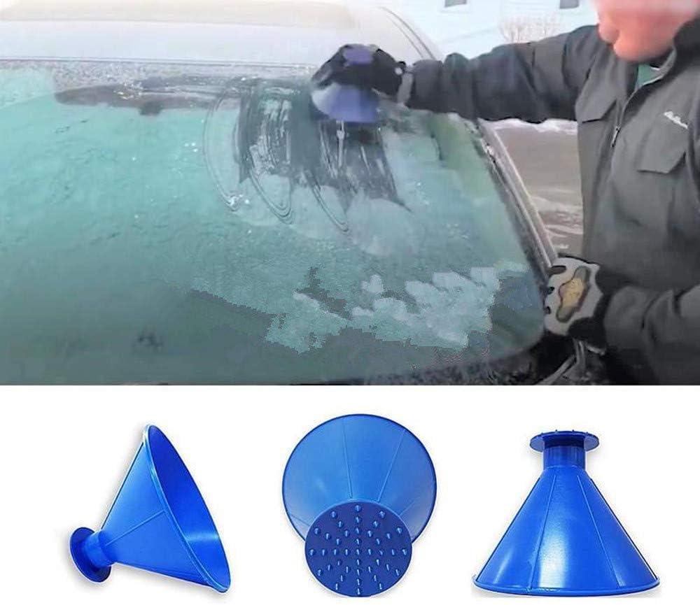 neige pare-brise de voiture grattoir en forme de c/ône grattoirs Sc Grattez Une ronde de glace grattoir