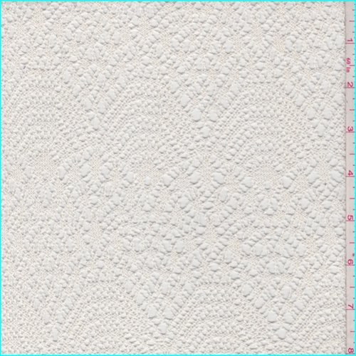 Crochet Lace Fabric - Cameo Crochet Lace, Fabric by The Yard