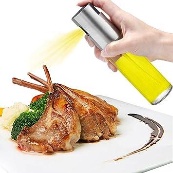 Dispensador de pulverizador de aceite, Oil Sprayer 100 ml Vinagre/Aceite de oliva de