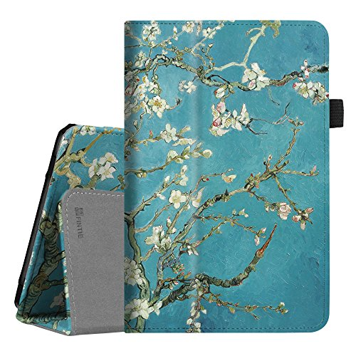 Fintie Verizon ASUS ZenPad Z8s (ZT582KL) Case, Premium PU Leather Folio Stand Cover with Auto Sleep/Wake Function for Verizon ASUS ZenPad Z8s 7.9 inch Tablet 2017 Release, Blossom