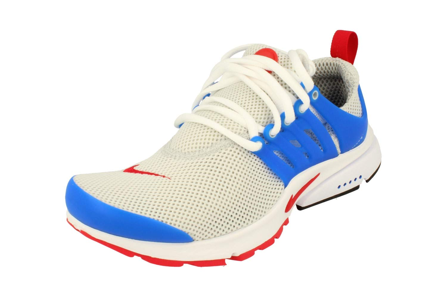 Nike air Presto Essential Mens Running Trainers 848187 Sneakers Shoes (US 6, Dusty Grey University red Hyper Cobalt 004)