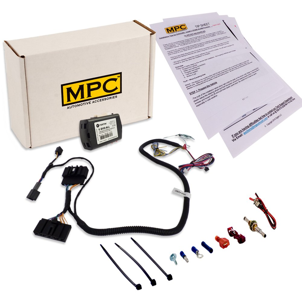 Complete Add On Remote Start Kit For 2007-2012 Ford Escape - Includes T-Harness - Use Your Factory Remotes by MPC