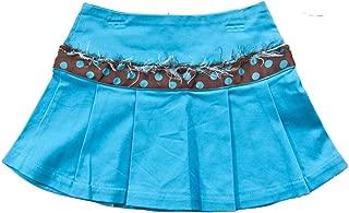 product image for Cheeky Banana Little Girls Schoolgirl Pleated Skirt Size 4 Turquoise