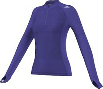 6c5e5d60eef80 adidas Supernova Storm Half Zip Women s Running Top - SS15 - X Large ...