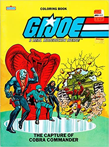 G.I.Joe, The Capture of Cobra Commander coloring book: Dwight Jon ...