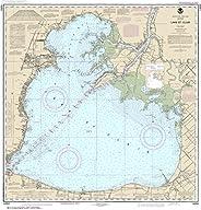 "NOAA Chart 14850 Lake St. Clair: 33.82"" X 32.42"" Lam"