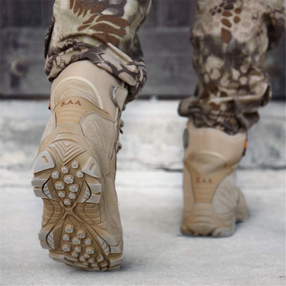 estilo militar resistentes al desgaste de WOJIAO Botas t/ácticas para hombre