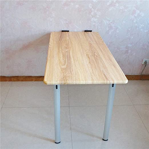 stts Lazy Table- Mesa Plegable abatible de Pared con Patas, Mesa ...