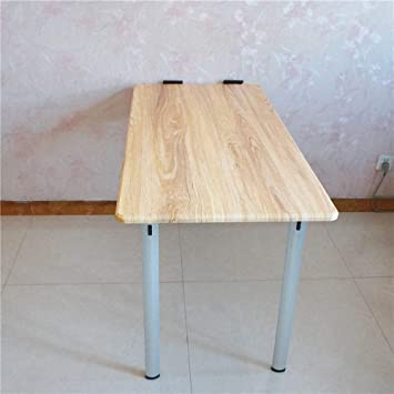 LRZZ Lazy Table- Mesa Plegable abatible de Pared con Patas, Mesa ...