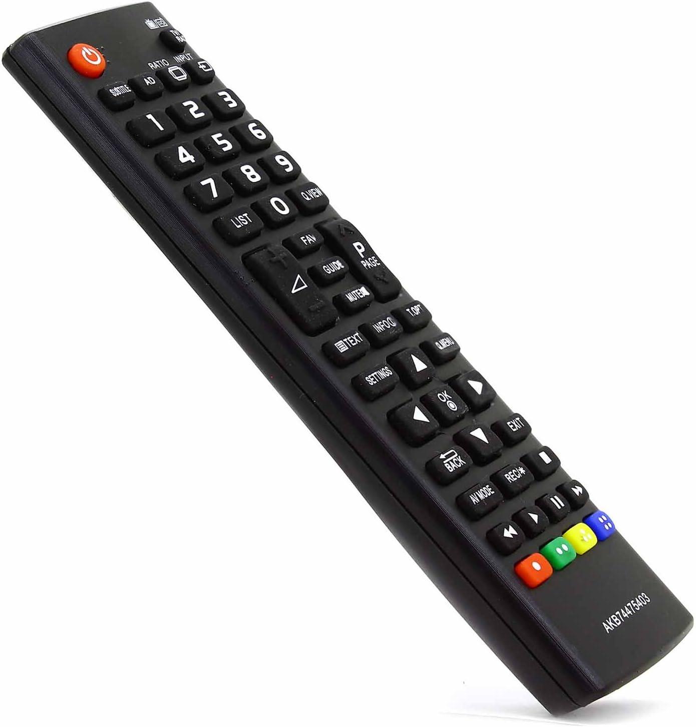 121AV - Mando a Distancia de Repuesto AKB74475403 para televisores ...
