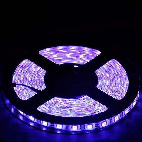 LED stripes Luz Cadena, conmutación Hali 300ER LED de luces Blanco ...