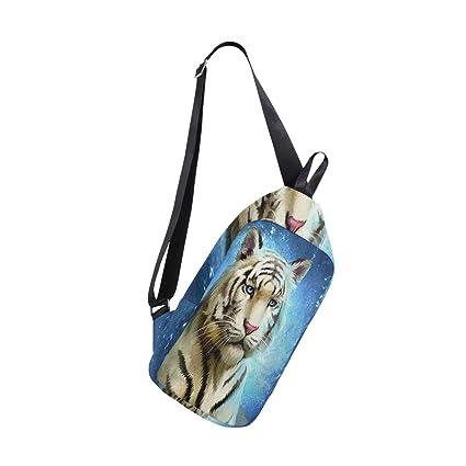 28e1c1c4dfa8 Sling Bag Child Tiger Mens Chest Shoulder Backpacks Crossbody One ...