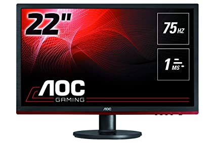 "b3abb3fb95a AOC G2260VWQ6 21.5"" Gaming Monitor FHD 1920x1080, 1ms, FreeSync 75Hz,  Anti-"