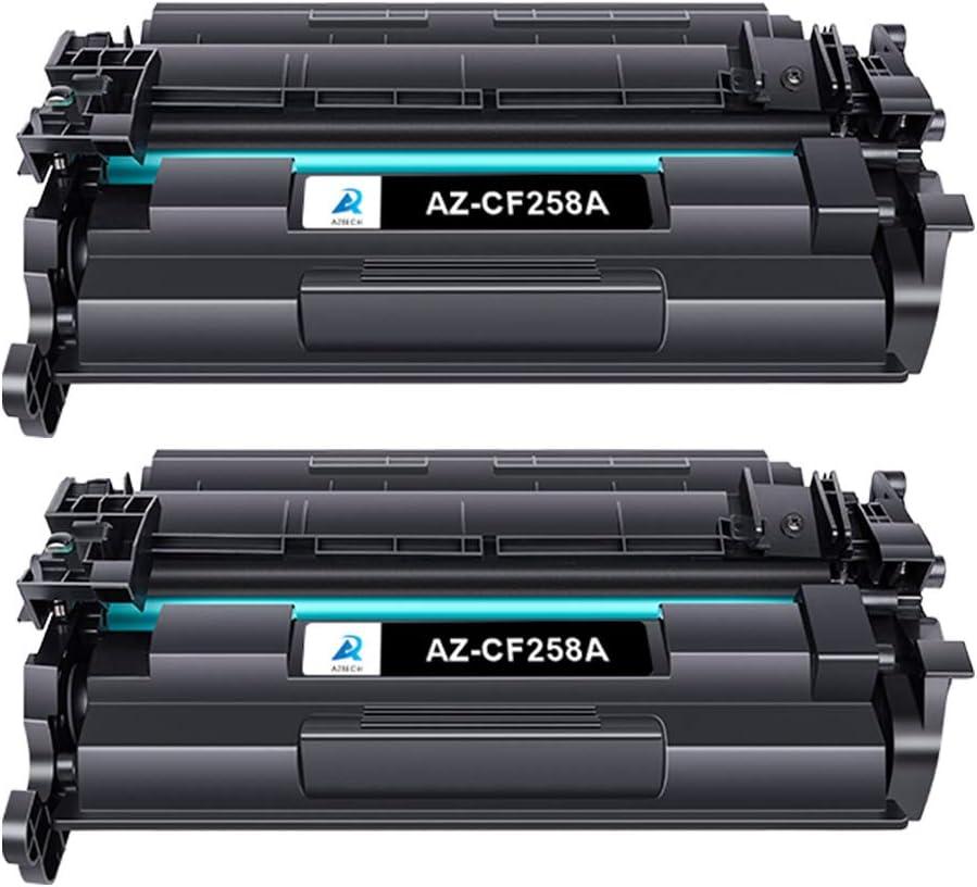 Aztech Compatible Toner Cartridge Replacement for HP 58A CF258A 58X CF258X Laserjet Pro M404dn M404n M404dw MFP M428fdw M428dw M428fdn (Black 2-Pack)