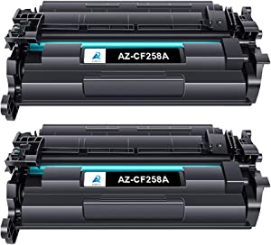 Aztech Compatible Toner Cartridge Replacement for HP 58A CF258A 58X CF258X Laserjet Pro M404dn M404n M404dw MFP M428fdw M428dw M428fdn (Black 2-Pack)