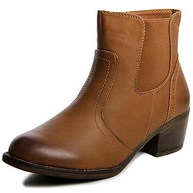 Damen Boots Topschuhe24 470 Stiefeletten Nw8vmOn0