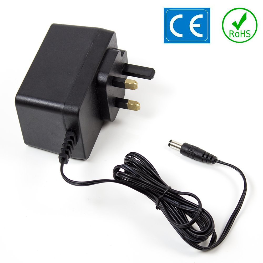 MOOER PDNW-9V2A-UK 9V 2A AC REGULATED POWER SUPPLY REPLACEMENT ADAPTER