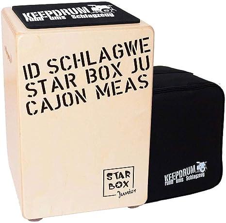 Schlagwerk CP-400 SB Starbox - Cajón infantil con funda y ...