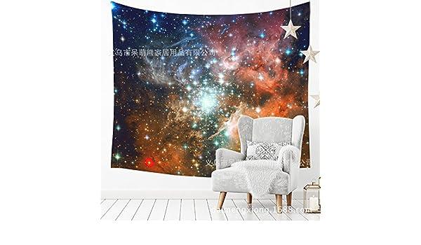 WALLhang Inicio Tela Estrella Colgante Tapiz Papel Tapiz de Pared Yoga Toalla de Playa Muebles para el hogar, HU-151,150 * 102 (cm): Amazon.es: Hogar