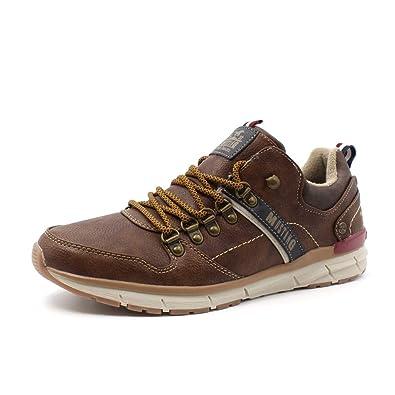 Schnürer Herren Sneaker Mustang Shoes 301 4131 Schnürschuh f7gbY6y