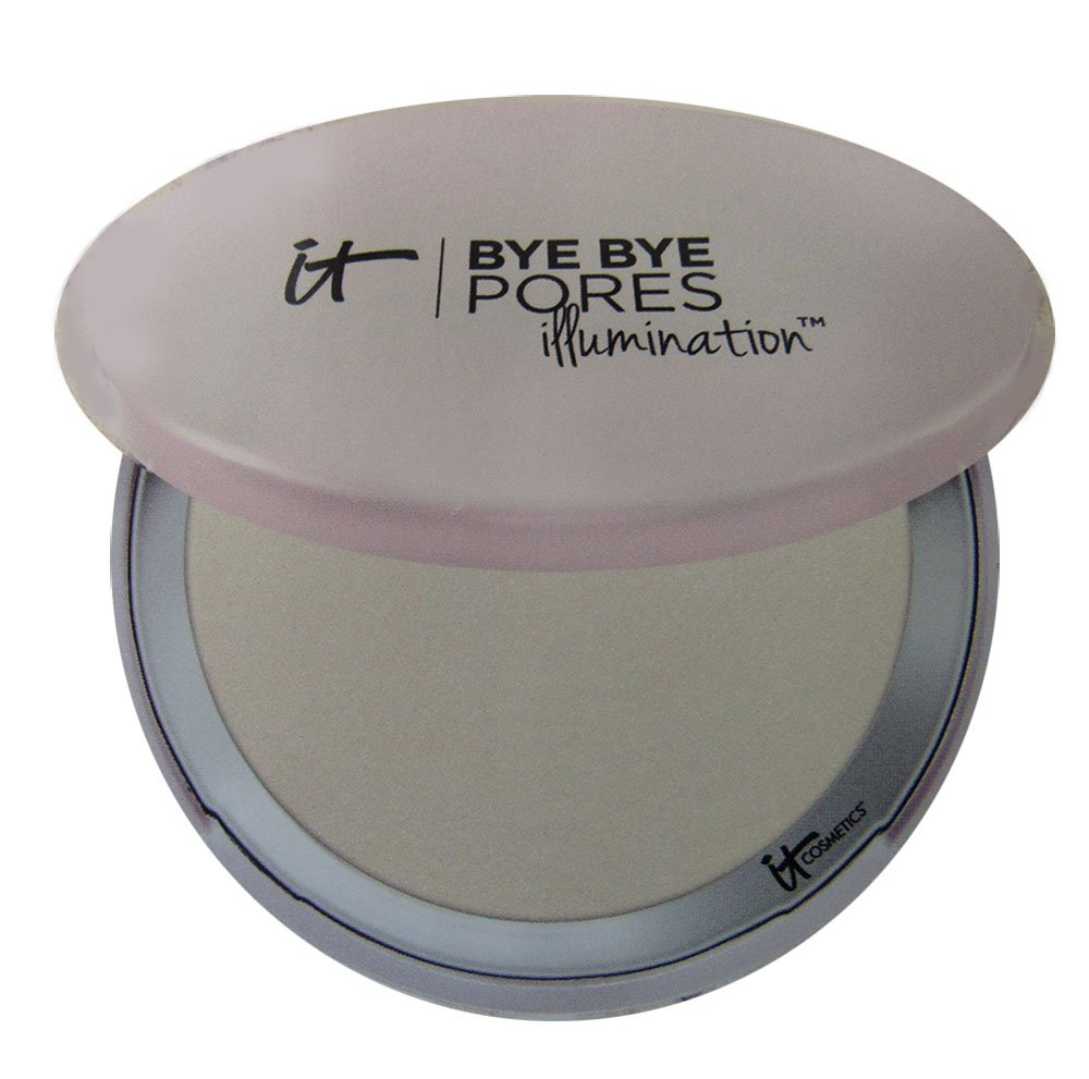 It Cosmetics Bye Bye Pores Illumination Poreless Finish Airbrush Pressed Powder in Radiant Transulcent 0.31 oz