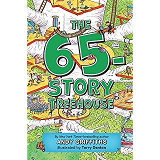 The 65-Story Treehouse: Time Travel Trouble! (The Treehouse Books)