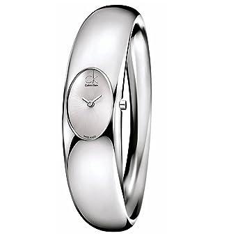 Calvin Klein Reloj Analogico para Mujer de Cuarzo con Correa en Acero Inoxidable MTP-1258D-2AEF: Calvin Klein: Amazon.es: Relojes