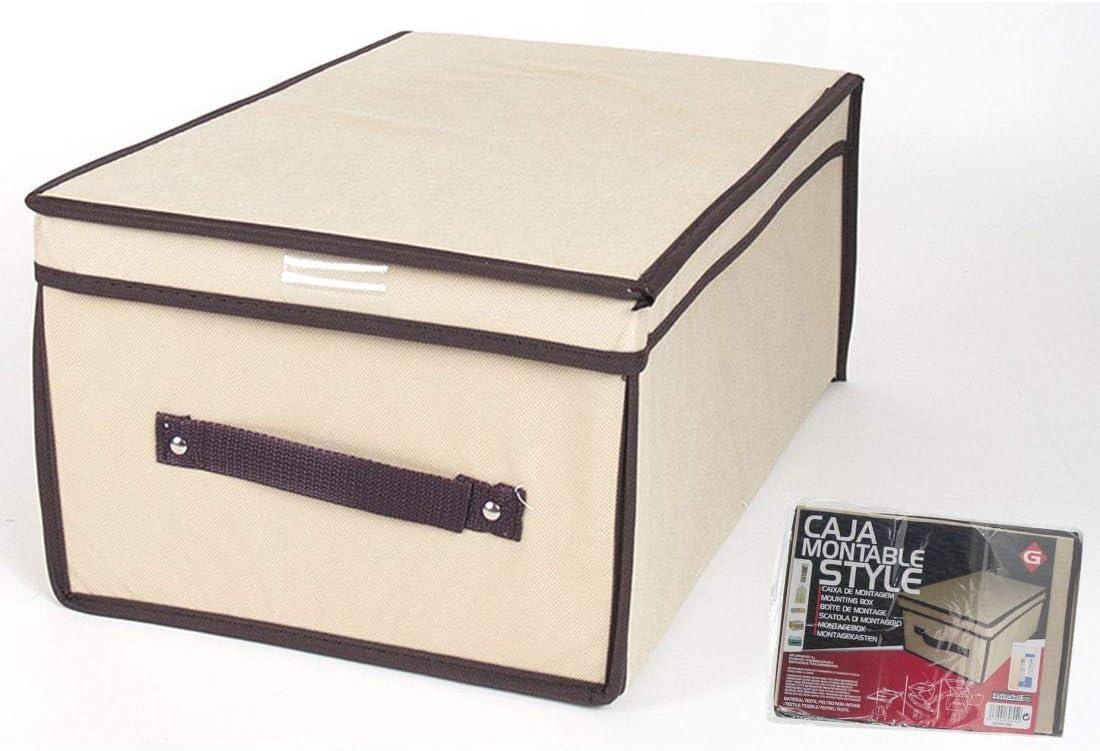 Gerimport Caja Montable Style 90g 45x30cm: Amazon.es: Hogar