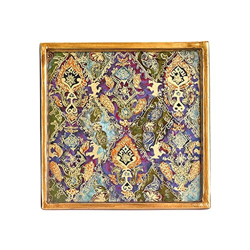 Badash - Cabra Hand painted 4 Pc Coaster Set 4