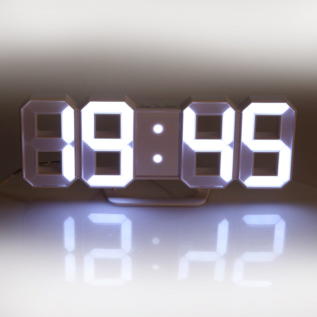 Best Of Digital Wall Clock with Light