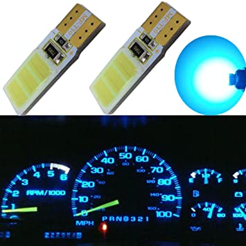 wljh T10 194 2825 COB LED bombillas 921 168 Canbus Libre De Errores de repuesto para ...