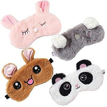 Sleep Mask Bunny Ears Rabbit Eyemask Pillow Unisex Kitsch Blindfold Animal Theme Kawaii Harajuku Cosplay Costume Cute Padded Eye Cover