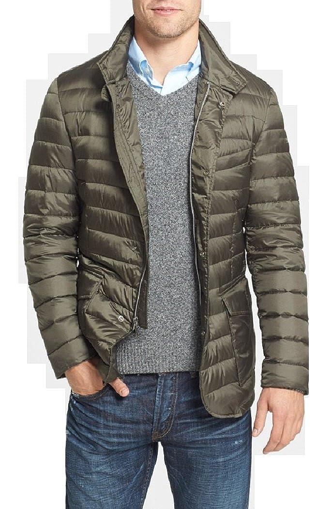 size 40 22287 4f648 Woolrich Sundance Blazer Light Down Jacket Olive Brown ...