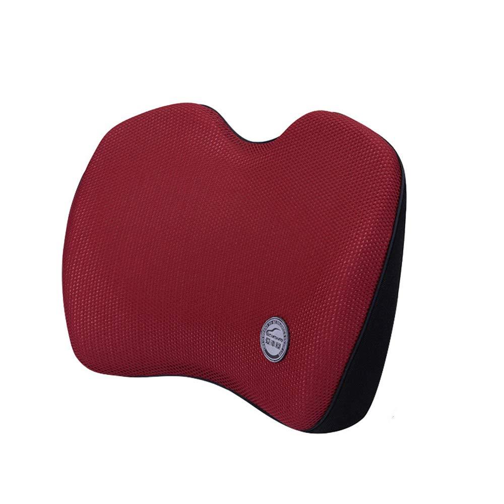 Car Memory Cotton Lumbar Car Waist Cushion Car Waist Pad Back Car Supplies Posture Therapy Lumbar Support Cushion Memory Foam Ergonomic Back Support Pillow Zhanghaidong