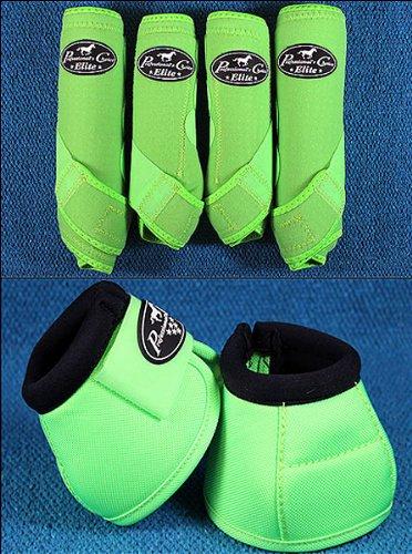 Lime Medium Professional Choice Sports Medicine Horse Boots Bell Ventech Elite